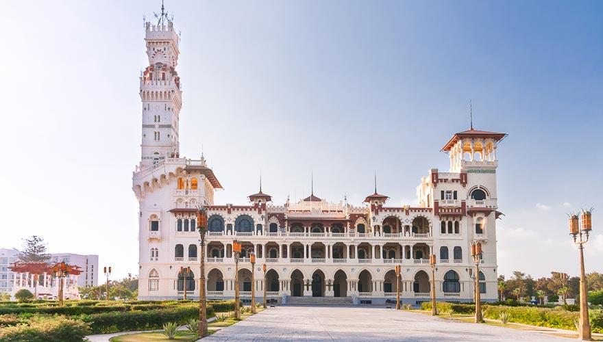 Der Montazah Königspalast in Alexandria