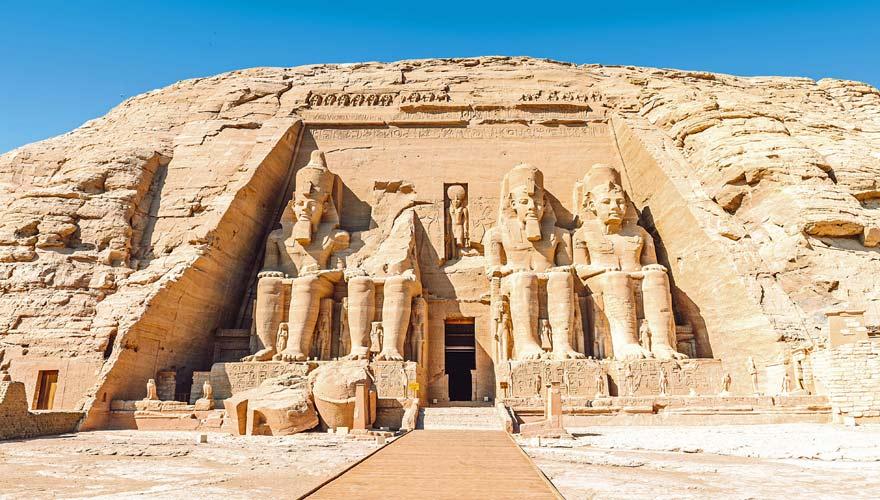 Abu Simbel, Assuan, Ägypten