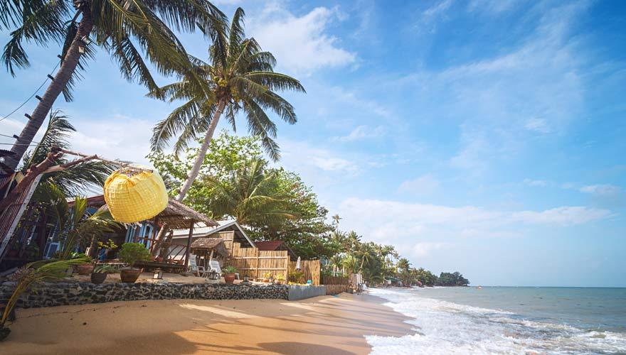 Bang Po Strand auf Koh Samui