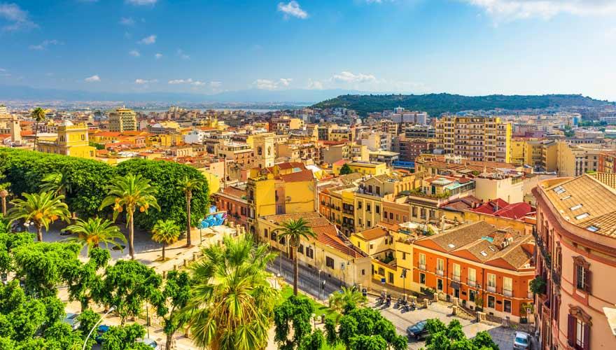 Cagliari in Sardinien
