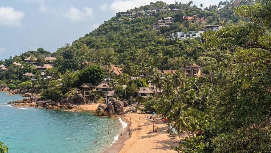 Coral Cove ist einer der Top-Strände auf Koh Samui