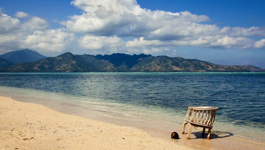 Strand von Gili Air