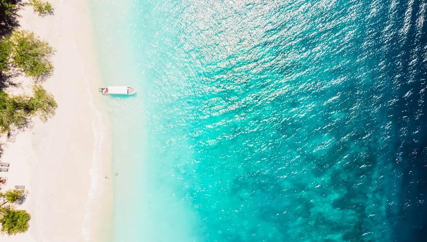 Strand, Gili Inseln