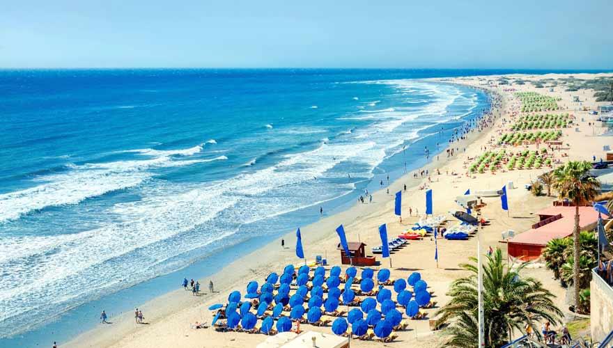 Playa del Ingles auf Gran Canaria