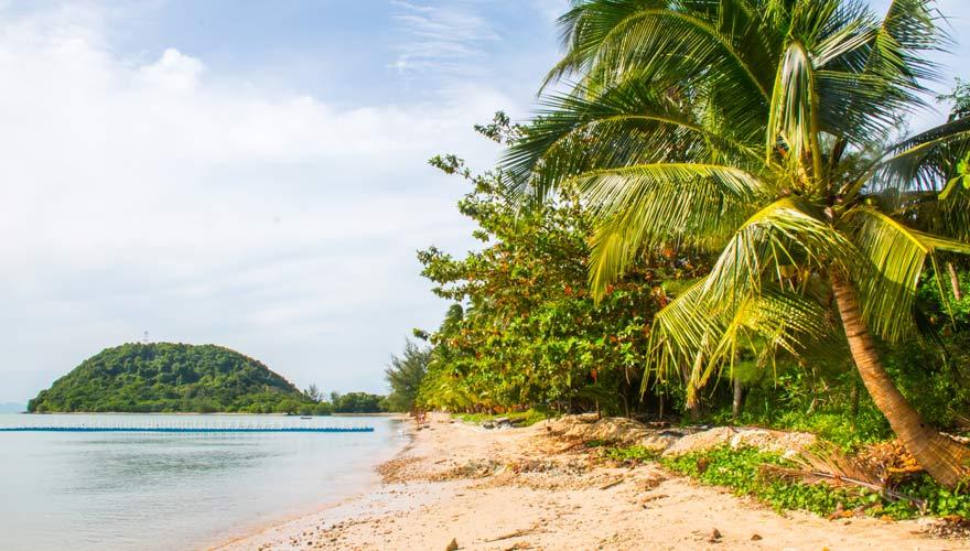 Der Koh Samui Strand Laem Yai