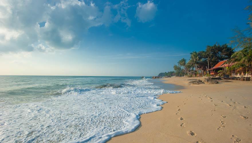 Lamai Beach auf Koh Samui