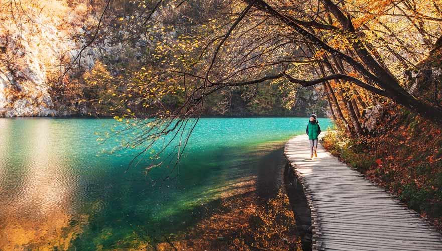 Ausflug zu den Plitvicer Seen