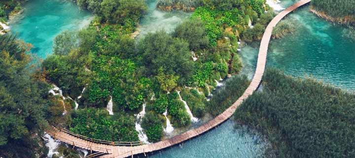 Nationalpark Plitvicer Seen Karte.Plitvicer Seen Einzigartiges Naturerlebnis Der Sonnenklar
