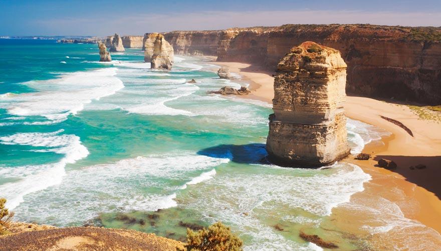12 Apostels an der Great Ocean Road im Traumreiseziel Australien