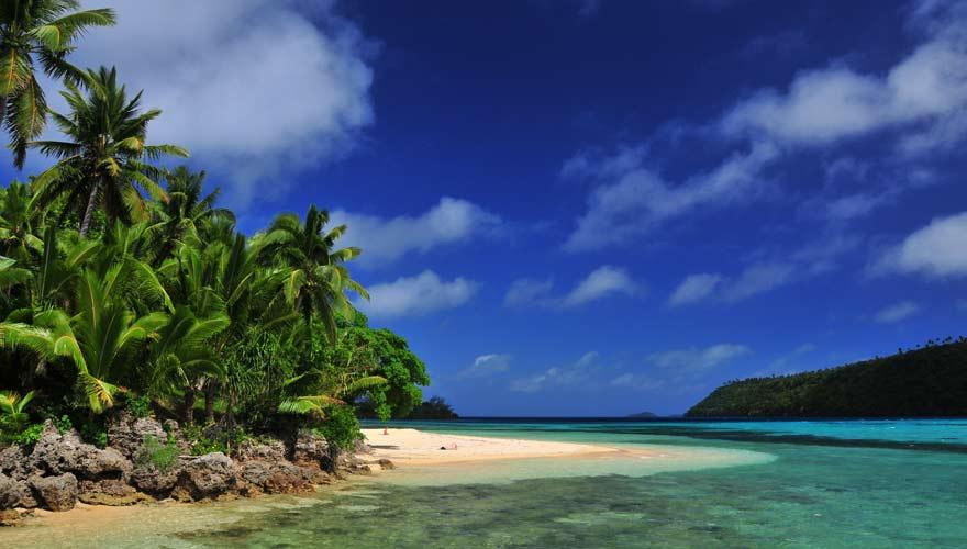 Strand auf Tonga