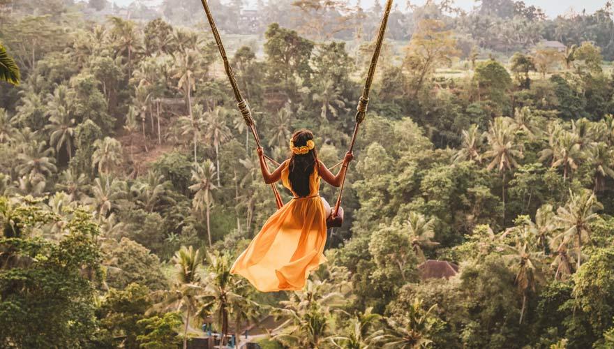 Bali Swing Bongkasa bei Ubud