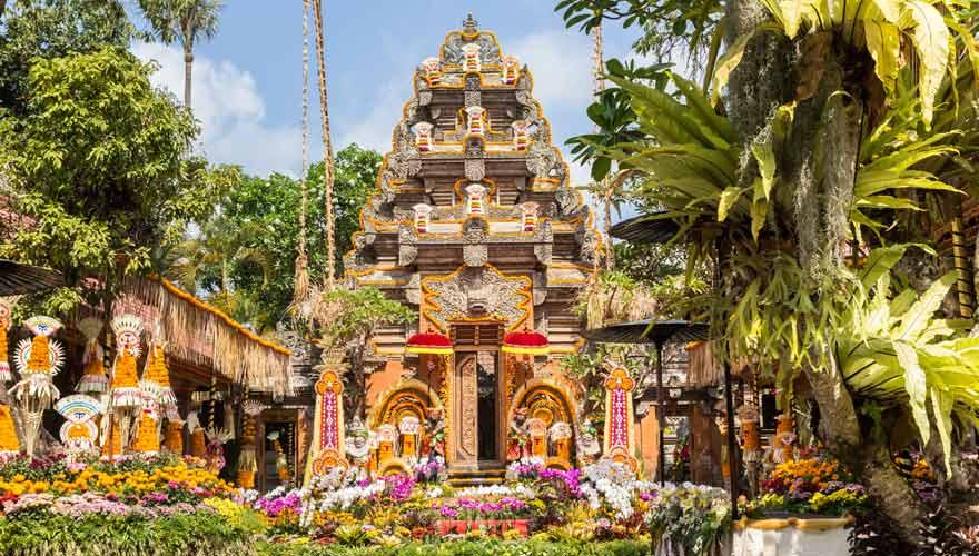 Der Ubud Palace Puri Saren Agung ist eine Top-Sehenswürdigkeit in Ubud
