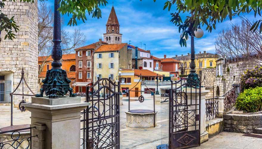 Zentrum von Zadar