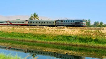 Ägypten per Zug
