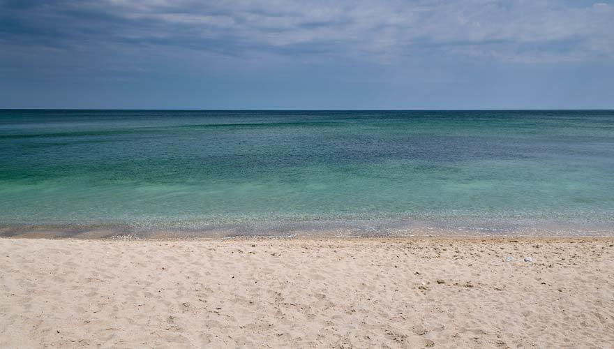 Strand von Byala in Bulgarien