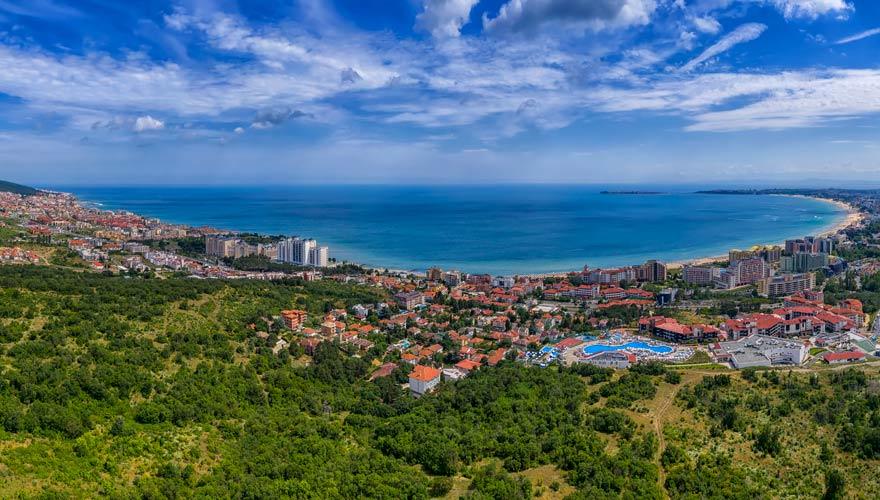 Sveti Vlas in Bulgarien mit Strand