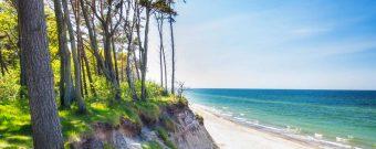 Ein günstiges Reiseziel in Europa ist die polnische Ostsee