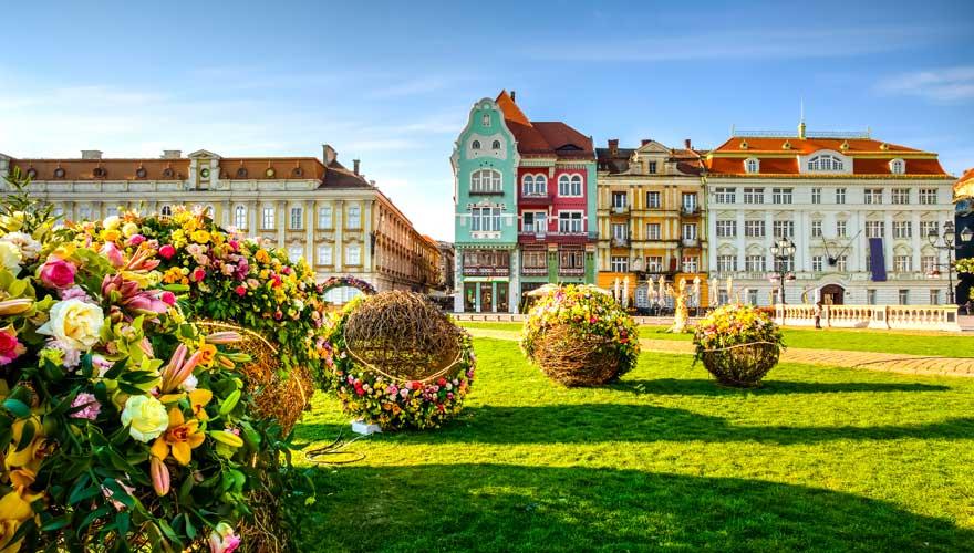 Timisoara in Rumänien ist nicht nur Kulturhauptstadt, sondern auch ein günstiges Reiseziel in Europa