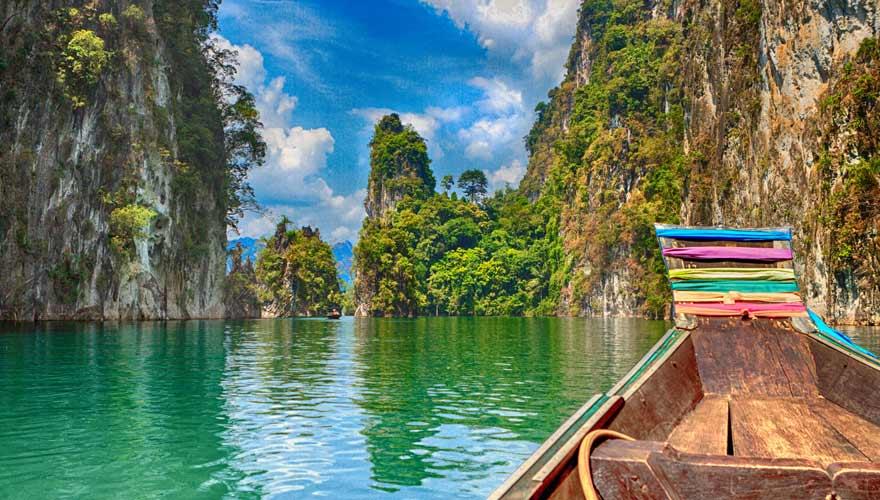 Khao Sok Nationalpark in Thailand