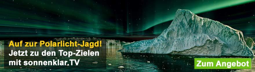 Polarlicht Banner