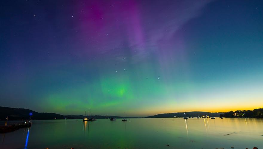 Südlichter in Tasmanien