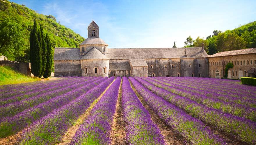 Abtei von Senanque, Provence, Frankreich