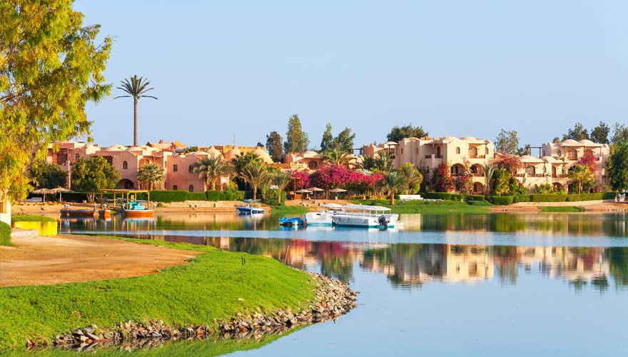 Die Urlaubsregion El Gouna in Ägypten