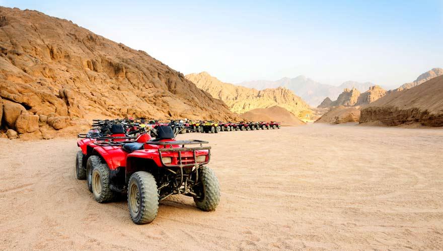 Reisetipp für Ägypten ist auf jeden Fall eine Quad-Tour