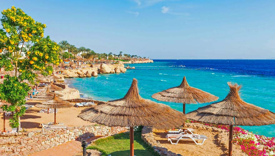 Urlaubsregion Sharm el Sheikh in Ägypten