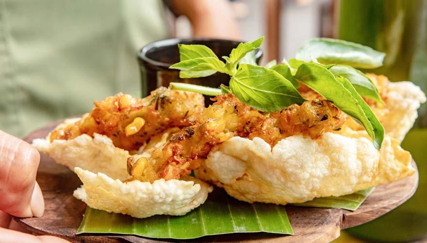Meeresfrüchte auf Bali