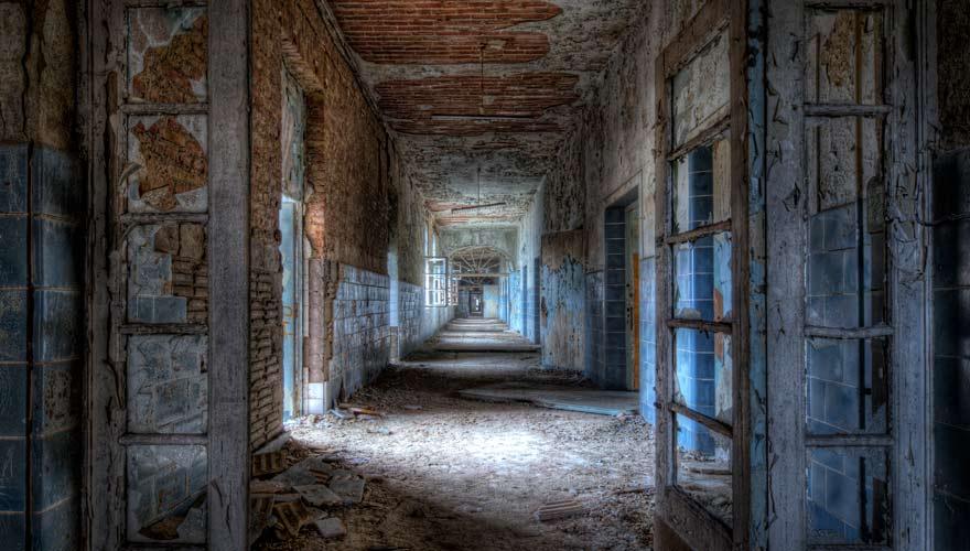 Die Beelitz Heilstätten in Berlin sind einer der gruseligsten Orte Deutschlands