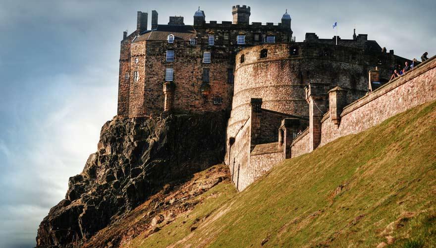 Edinburgh Castle, Schottland