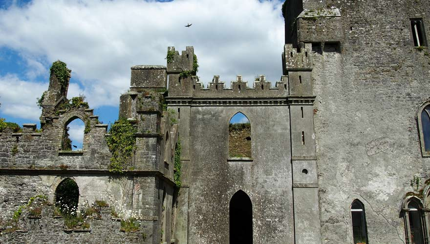 Gruseliges Leap Castle in Irland