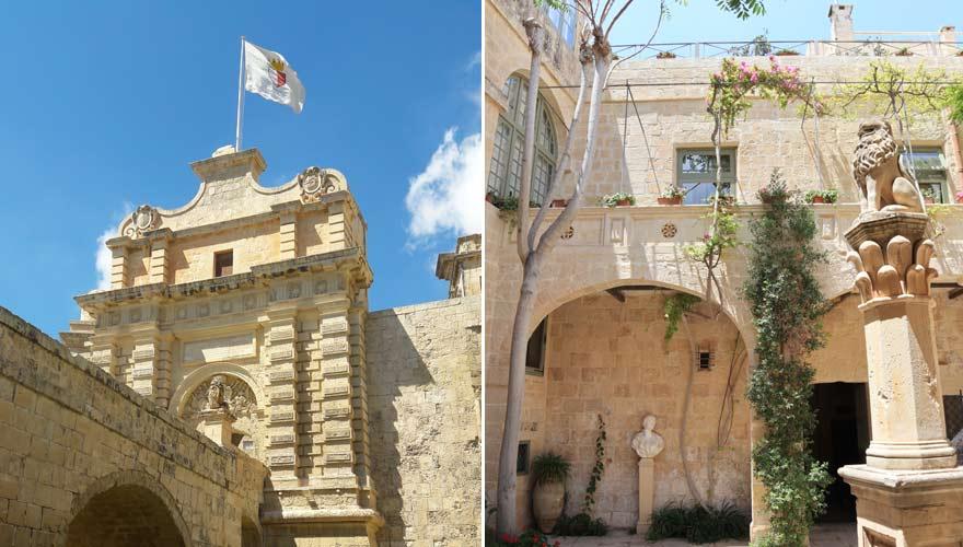 Bilder aus Mdina, Malta