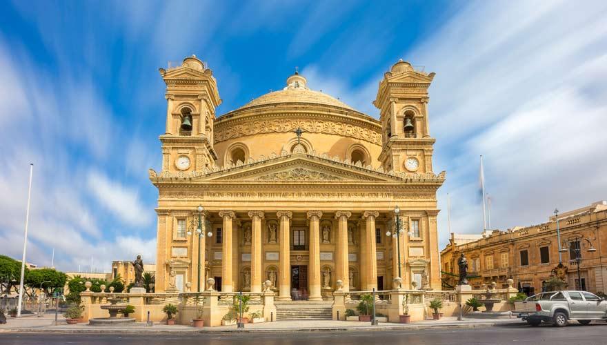 Die Rotunde von Mosta auf Malta