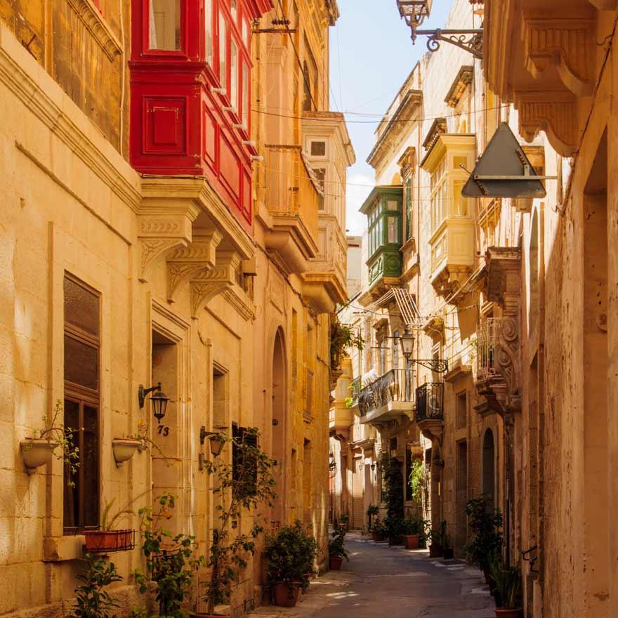 Three Cities auf Malta
