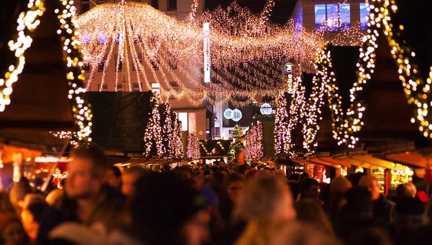 Internationaler Weihnachtsmarkt in Essen