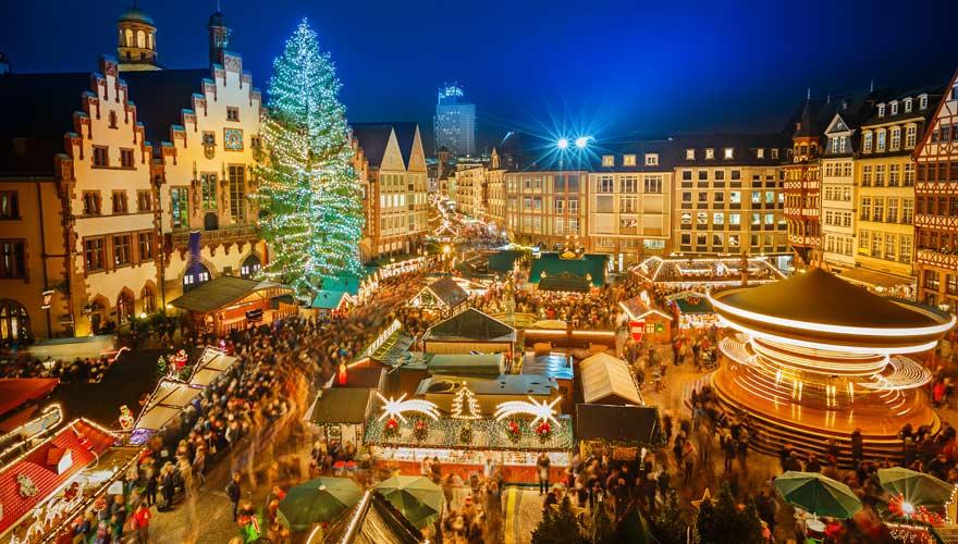 Frankfurter Weihnachtsmarkt am Römer