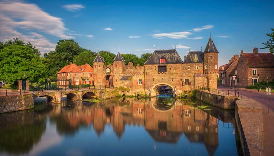 Koppelpoort in der niederländischen Stadt Amersfoort