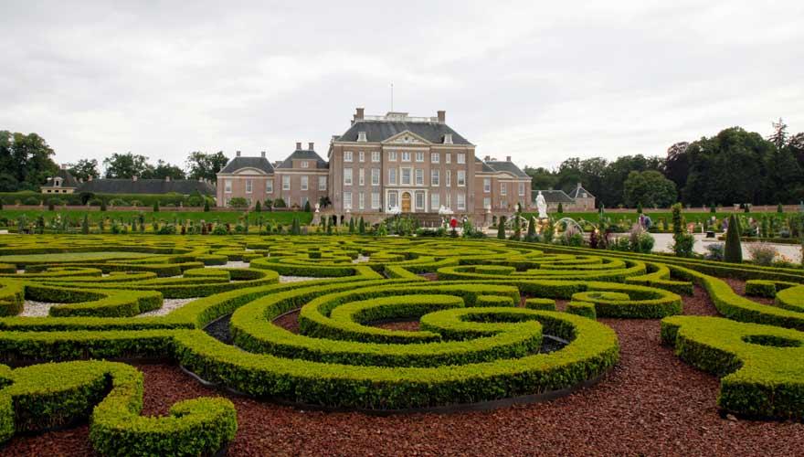 Het Loo Palast in der niederländischen Stadt Apeldoorn