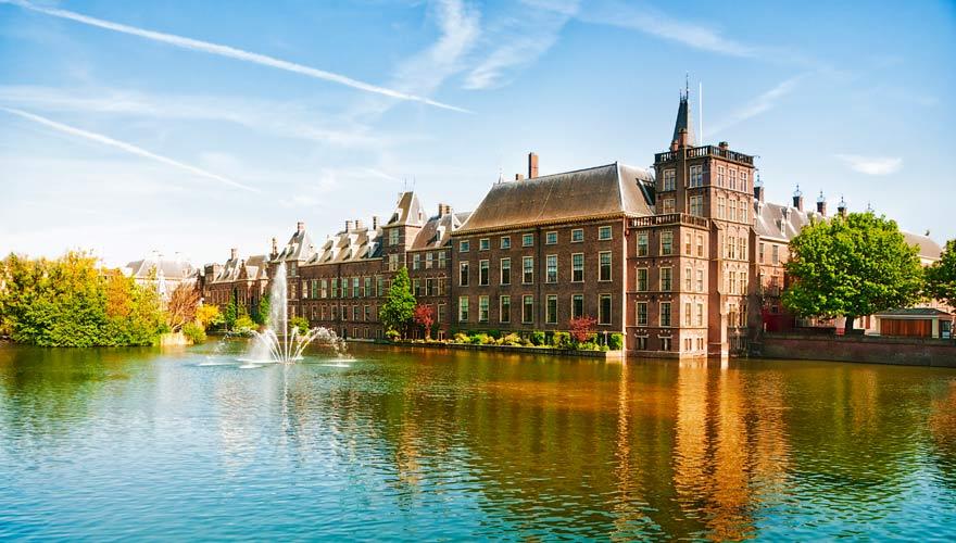 Die Stadt Den Haag in den Niederlanden