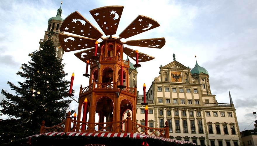 Augsburger Christkindlesmarkt: einer der schönsten Weihnachtsmärkte Bayerns