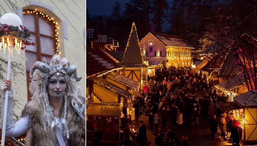 Weihnachtsmarkt Schloss Kaltenberg in Bayern