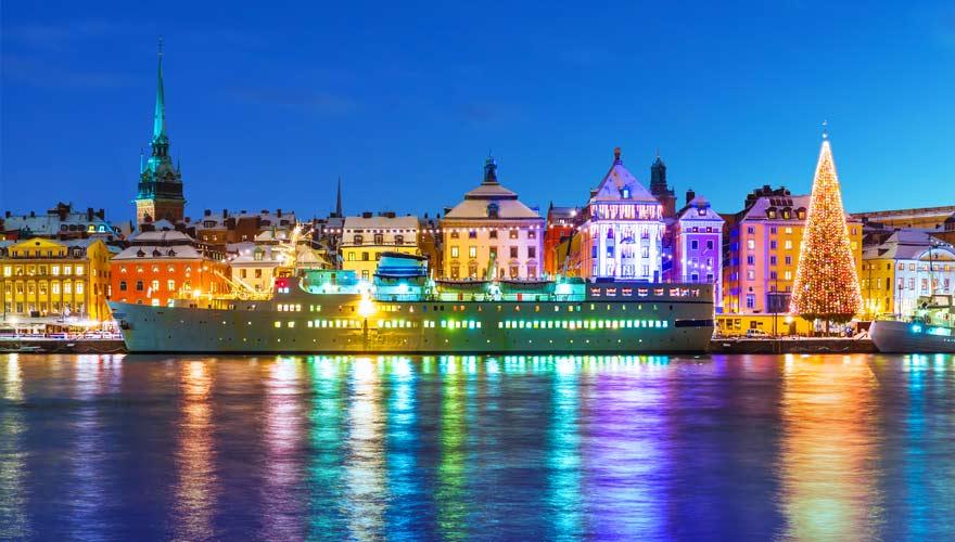 Ein tolles Reiseziel zu Silvester ist Stockholm