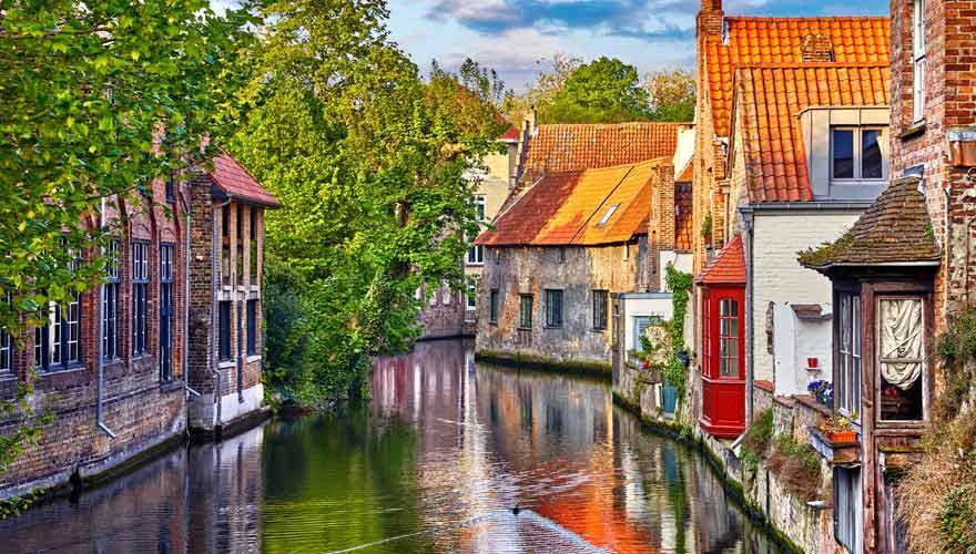Brügge in Belgien ist eine der schönsten Städte Europas