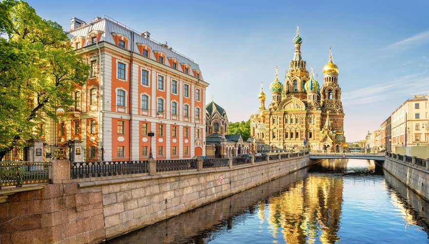 St. Petersburg in Russland