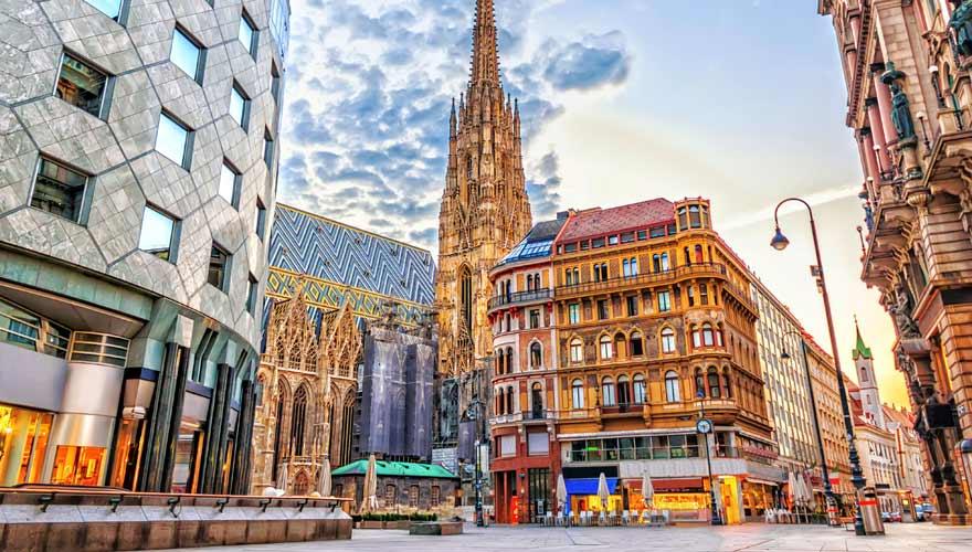 Wien ist durch seine kaiserliche Vergangenheit eine der schönsten Städte in Europa