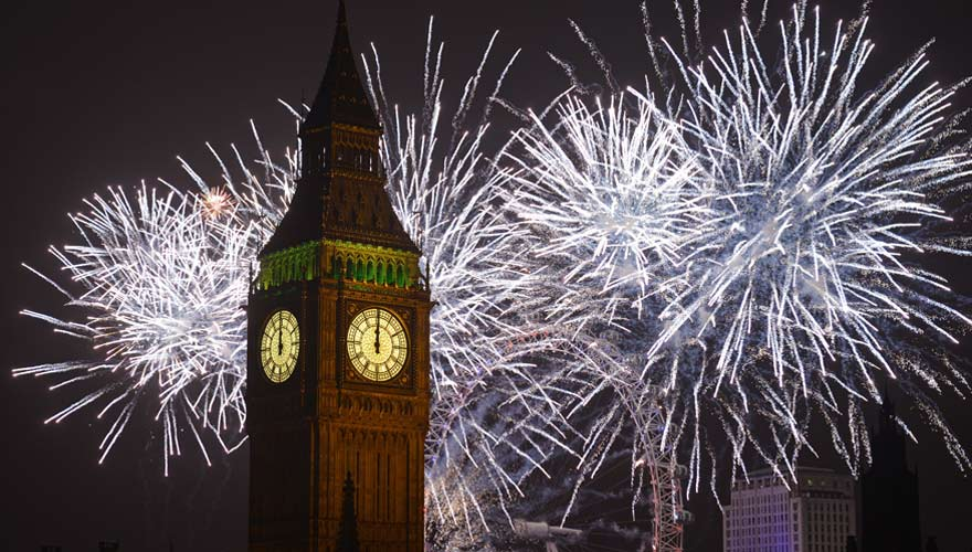 London Eye an Silvester - ein tolles Reiseziel