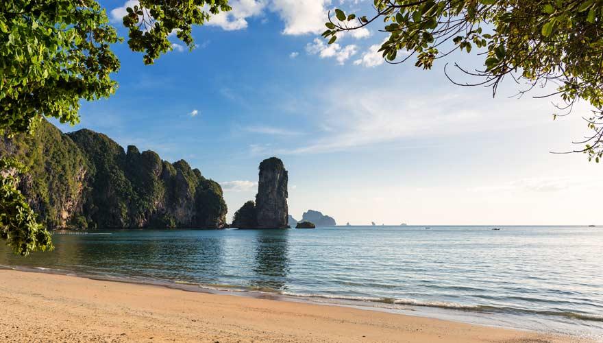 Pai Plong Beach auf Krabi ist einer der schönsten Strände in Thailand