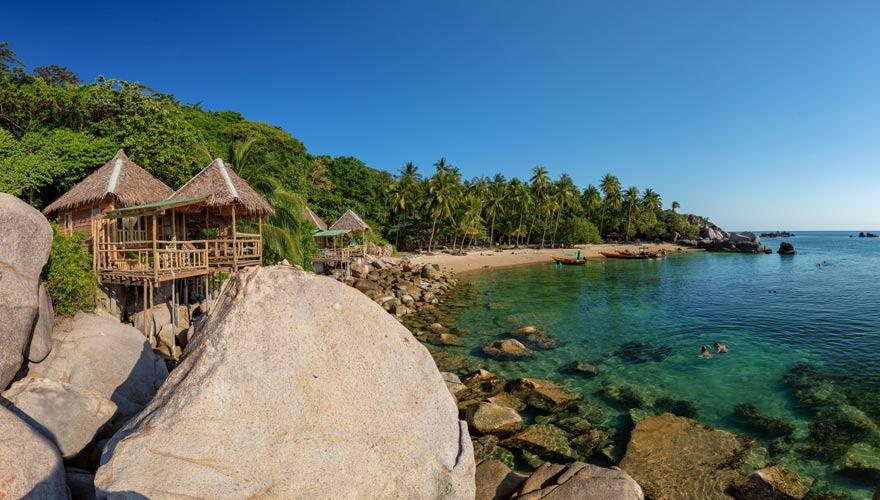 Sai Nuan Beach ist ein wunderschöner Strand in Thailand